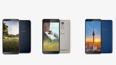 Gigaset Einsteiger-Smartphones GS185, GS180, GS100
