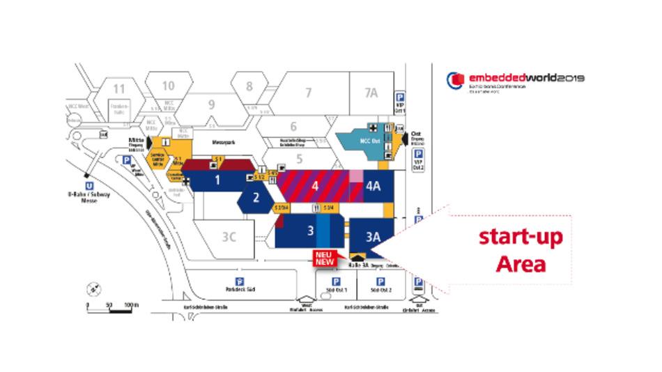 Die nächste embedded world findet vom 26. bis 28. Februar in Nürnberg statt. Für Start-ups gibt es einen eigenen Bereich um  sich zu präsentieren.