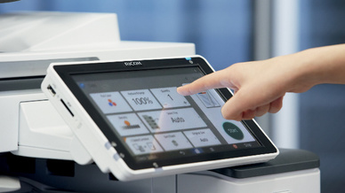 Printer/Drucker, Smart Operation Panel, Ricoh