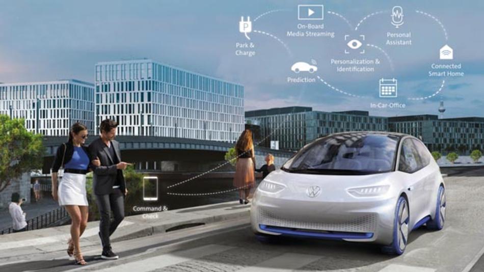Microsoft und Volkswagen arbeiten gemeinsam an der Volkswagen Automotive Cloud. Diese optimiert die Verknüpfung von Fahrzeug, Cloud-basierter Plattform und digitalem Ökosystem.