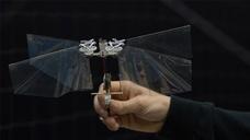 Der Flugroboter 'DelFly Nimble' im Detail