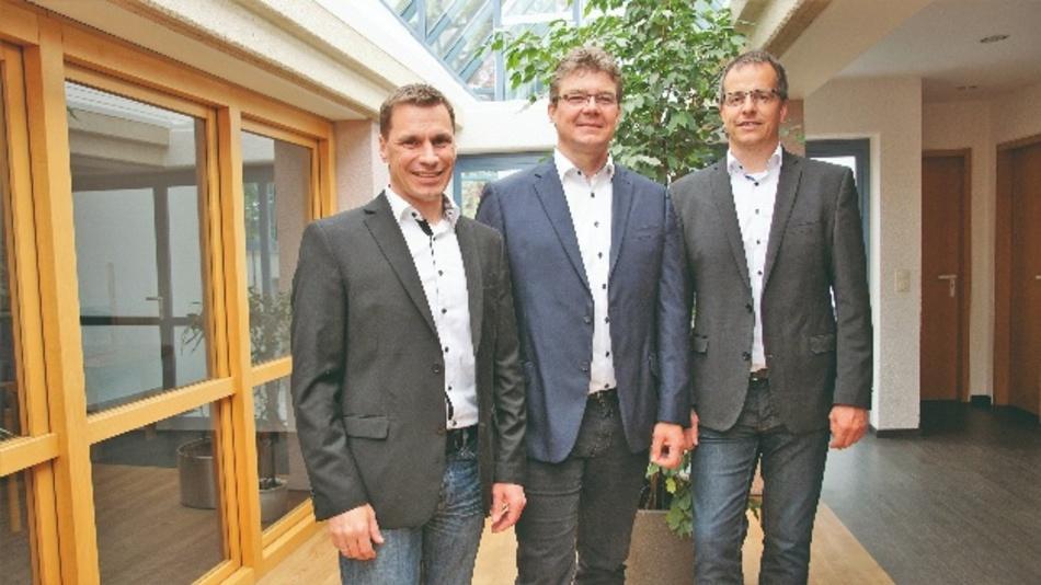 Das von Boxberg aus agierende Führungsteam von HGPower in Europa: Heiko Kirbach, Heiko Schweizer und Stephan Holzwarth (v.l.n.r.)