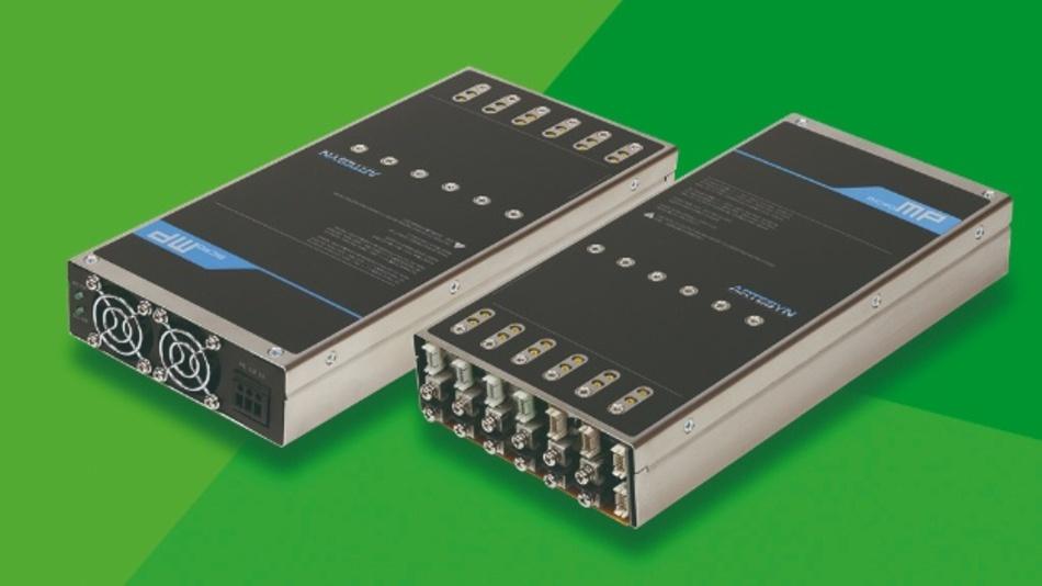 Artesyn µMP voll ausgebaut mit sechs Modulen