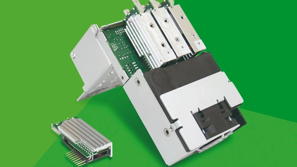 Efore RCB 600 während der Konfiguration mit geöffneter Grundeinheit