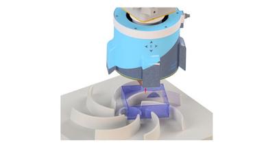 Der Sensor ermöglicht eine 360°-Rundumsicht für die Prozessführung und Qualitätssicherung.