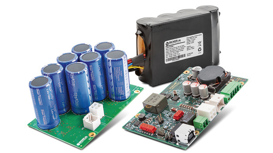 Das modulare DC-USV-System UPSI mit wartungsfreien Supercap-Energiespeichern und sicheren LiFePO4-Batteriepacks