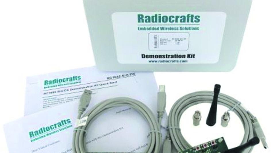 Bild 2: Das Sigfox Demonstration Kit der Firma Radiocrafts.