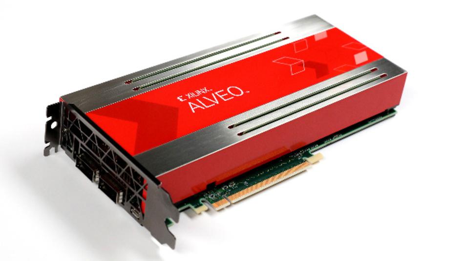 Xilinx hat auf dem XDF seine neue Einsteck-Kartenfamilie von KI-Beschleunigern unter der Bezeichnung Alveo vorgestellt.