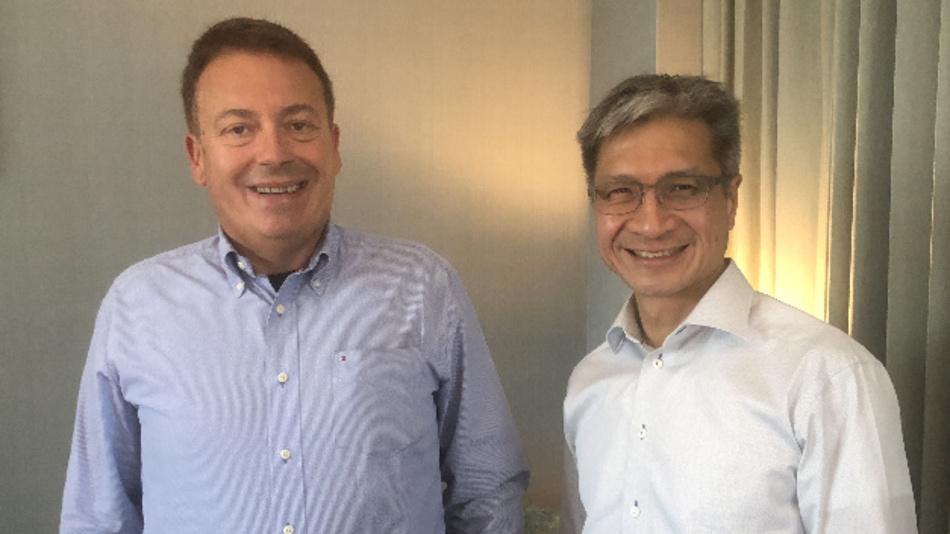 Xilinx CEO Victor Peng traf D&E-Chefredakteur Frank Riemenschneider in San Jose, Kalifornien.