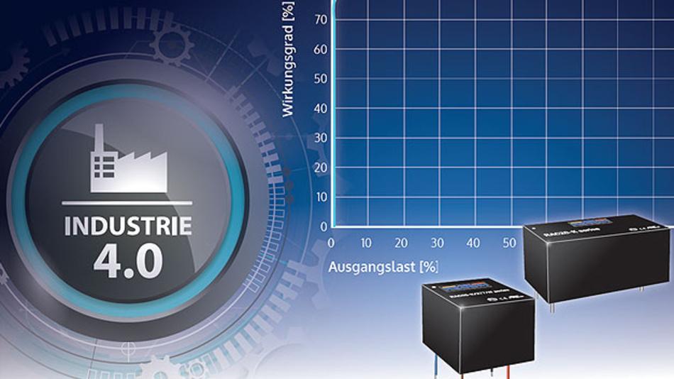 Die AD/DC-Module sorgen für enormen, digitalen Schub in der Stromversorgung .