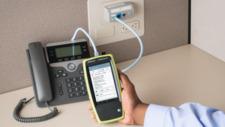 Power over Ethernet Stromversorgung ohne eigene Leitung