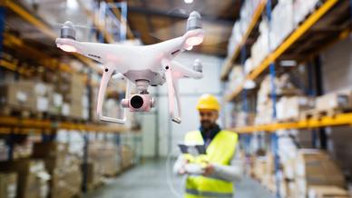 Drohne Logistik, Laird