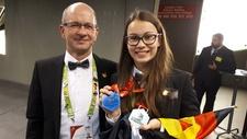 EuroSkills 2018 Silbermedaille für Diana Reuter