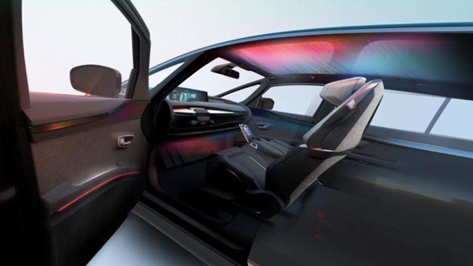 Auf dem Autosalon in Paris zeigen Hella und Faurecia personalisierbare, dynamische Lichtfunktionen für den Fahrzeuginnenraum.