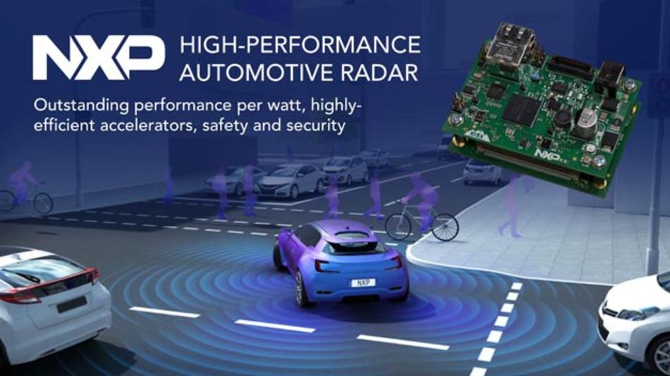 Die Radarlösung von NXP mit dem Prozessor S32R27, dem CMOS-Transceiver TEF810x und dem Powermanagement-IC FS8410 soll dabei helfen, die Markteinführungszeit zu verkürzen.