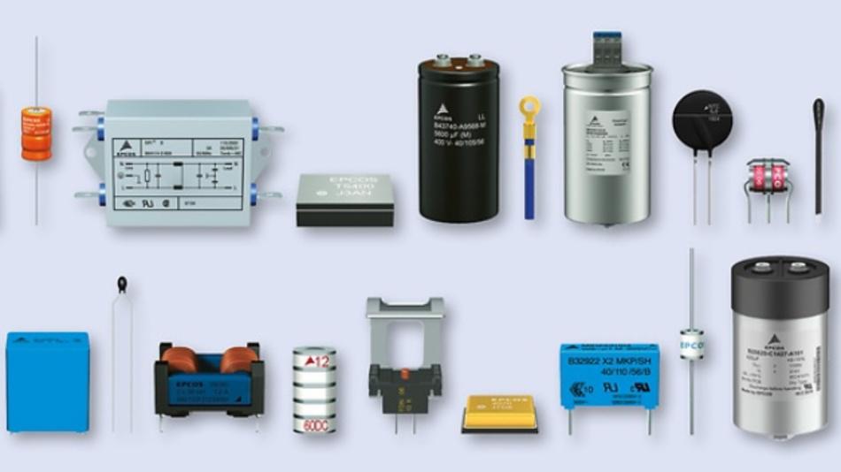 Produktspektrum von TDK.