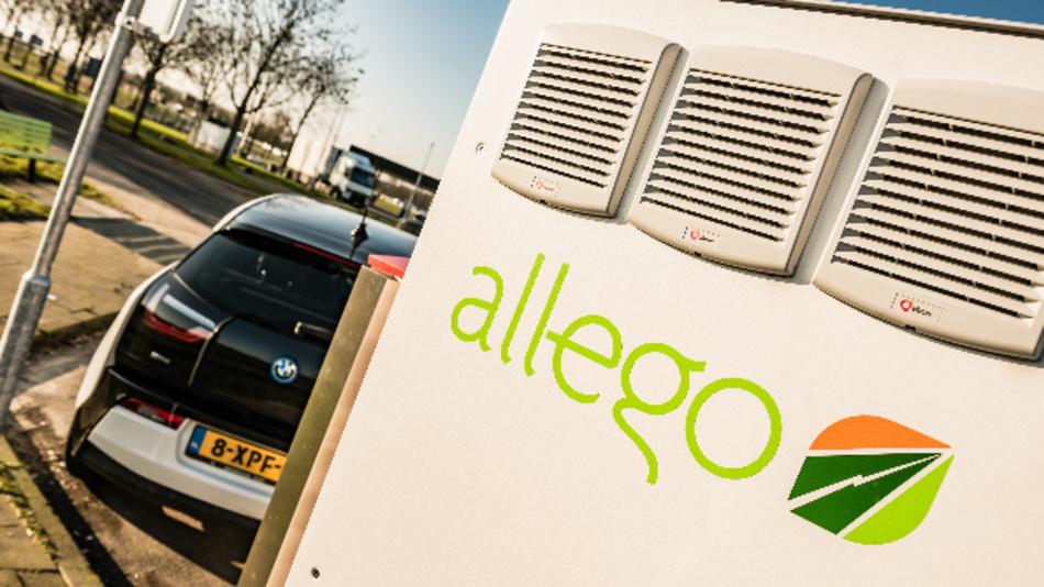 Die EV Cloud von Allego verbessert die Steuerung der Ladevorgänge von E-Fahrzeugen.