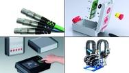 Bildcollage zu Produkten aus dem Bereich Elektromechanik