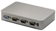 Aaeon bietet mit dem Boxer-6405 ein kompaktes KI-System für Smart-Factory-Anwendungen an. Ein Deep-Learning-Modul ermöglicht es dem Box-PC, als leistungsstarkes Edge-KI-Gerät zu fungieren. Als stromsparende Rechner hat er eine TDP von 6 W und kann au