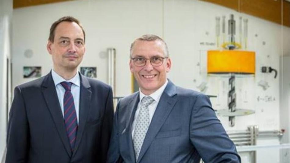 Die aktuellen Geschäftsführer von GTM : Jan Molter links, Daniel Schwind rechts