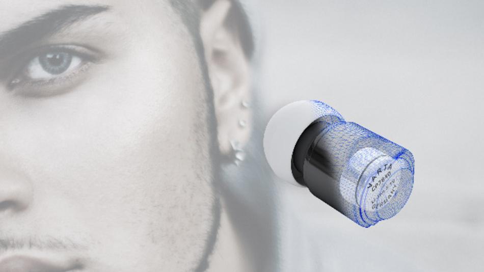 Die neuen Zelltypen der CoinPower-Serie kommen beispielsweise in In-ear-Headsets zum Einsatz.