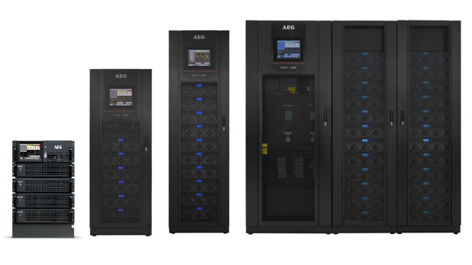 Bei AEG Power Solutions ist ein umfangreiches Programm an modularen USV-Anlagen erhältlich – beliebig erweiterbar für jeden Anspruch.