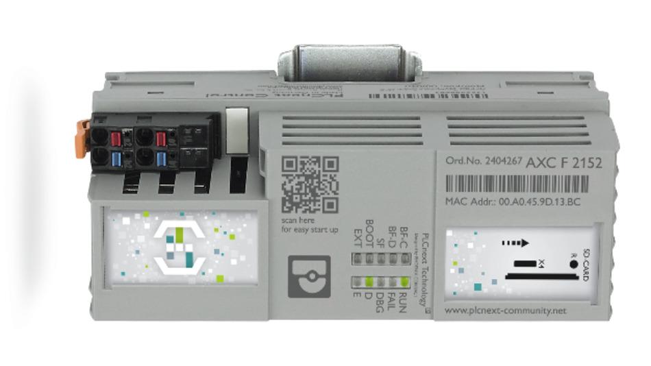 Die AXC F 2152 PLCnext-Steuerung von Phoenix Contact liefert RS jetzt in den Regionen EMEA und Asia Pacific.