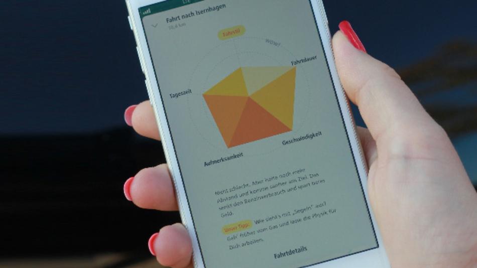 Mit der »DiamondDrive« App kann jeder ausprobieren, welchen Score er mit seiner Fahrweise erreichen könnte.