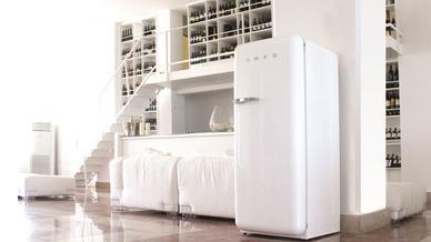 Smeg Kühlschrank Tür Geht Schwer Auf : Smeg: kühlschrank klassiker mit neuem innenleben u2013 elektroboerse
