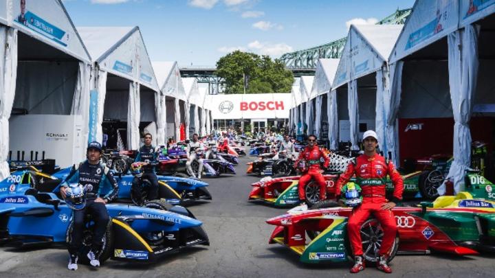 Bosch steigt für die kommenden drei Jahre als offizieller Partner der Formel E ein.