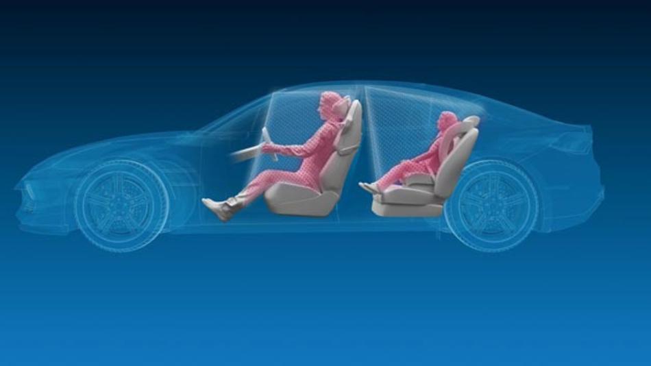 ZF arbeitet an einem 3D-Sensorsystem, um Insassen oder Objekte im Fahrzeug zu erkennen.