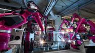 Roboter im Rittal-Werk