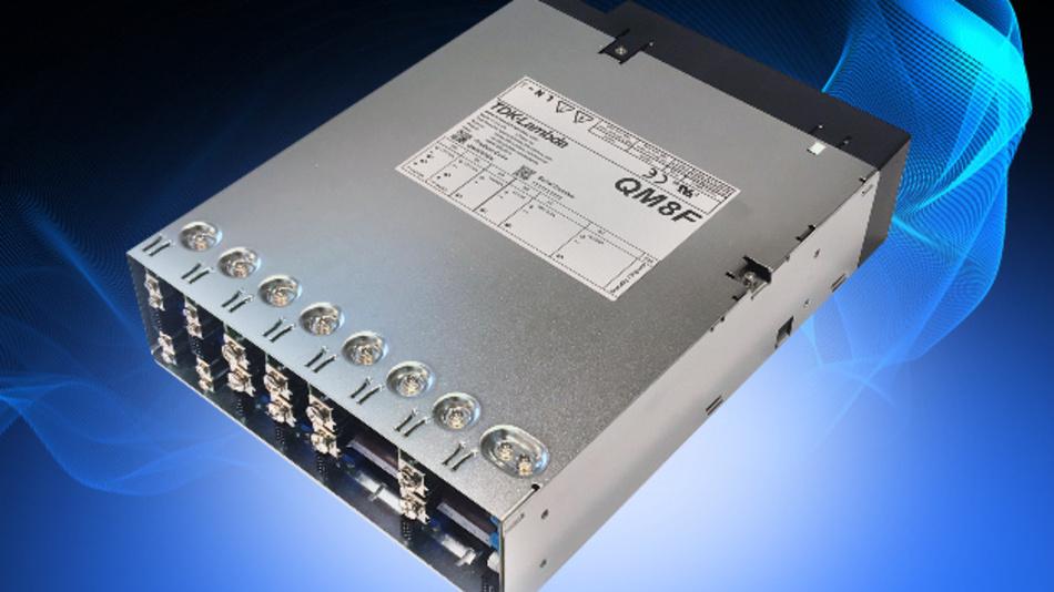 Die QM8-Module mit Single- oder Dual-Ausgang liefern zwischen 2,8 nd 105,6 V.