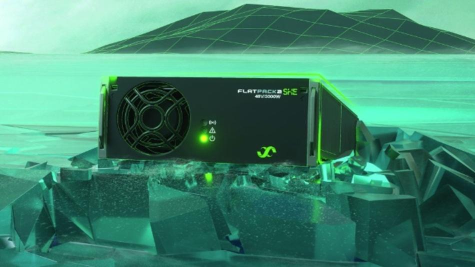 In der 3-kW-Server-Stromversorgung Flatpack2SHE von Eltek arbeiten CoolGaN-Bausteine von Infineon.