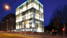 SPG Headquarter in Genf Fassadenbeleuchtung der Extraklasse