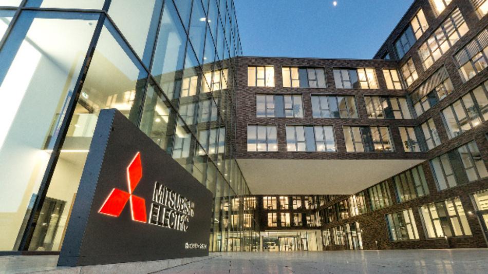 Der Hauptsitz der deutschen Niederlassung von Mitsubishi Electric in Ratingen bei Düsseldorf.