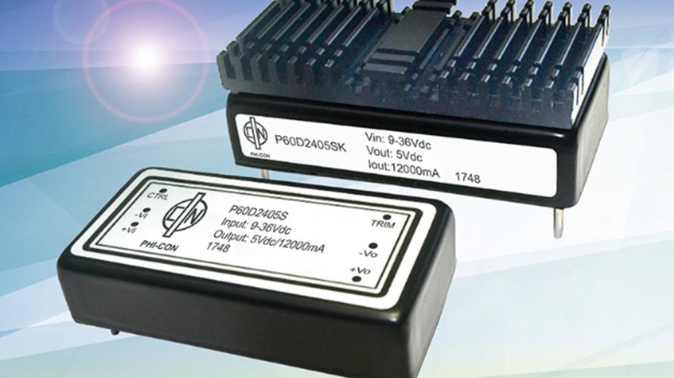 Der Weitbereichswandler P60D erreicht einen Wirkungsgrad von bis zu 93 %.