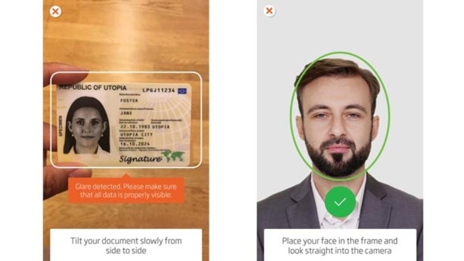 Ausweiskontrolle per Mobiltelefon: IDnow nutzt dazu KI-Verfahren.