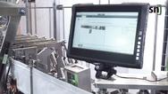 Druckmarkenvermessung in der Beutelabfüllanlage