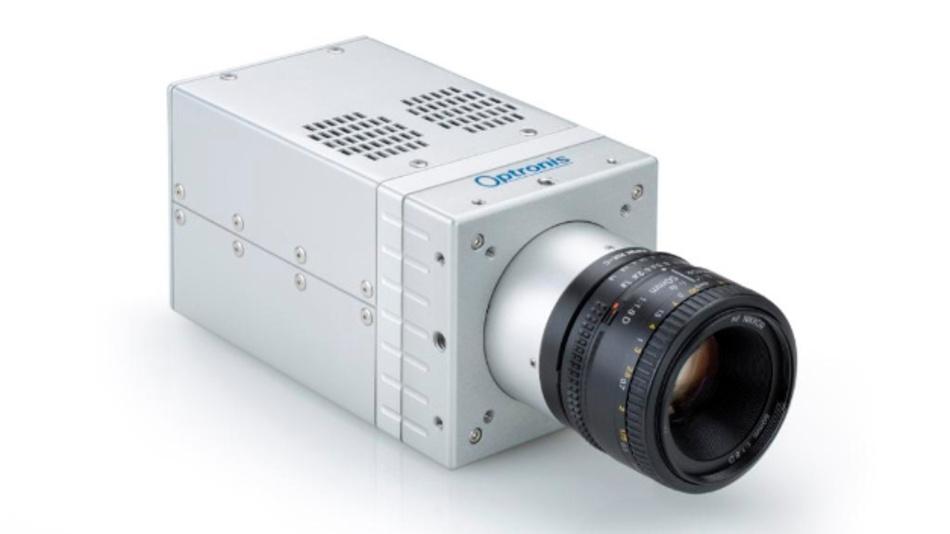 Die Kamera »Sprinter-FHD« der CamRecord-Sprinter-Serie wird über die Software TimeViewer gesteuert. Mit Full-HD-Auflösung von 1920 x 1080 Pixel erreicht die Kamera 1800 Bilder pro Sekunde.