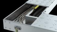 Begehbares Kabelrinnensystem BKRS von OBO Bettermann