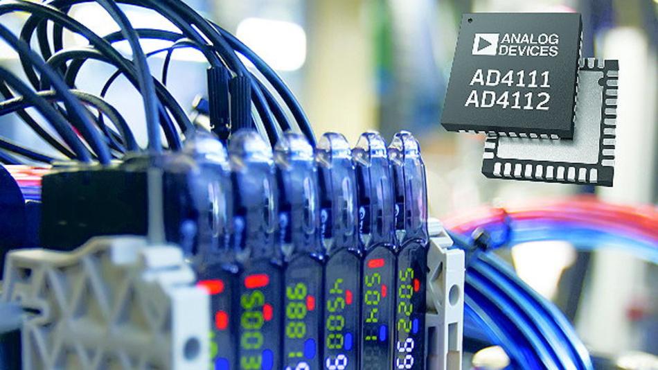 Die ±10V/0-20mA-Präzisions-A/D-Wandler von Analog Devices vereinfachen die Entwicklung von SPS- und DCS-Modulen.