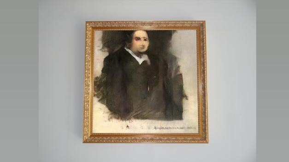 Der verschwommene Druck »Edmond de Belamy« zeigt einen Mann in dunkler Kutte mit weißem Kragen, der an einen französischen Geistlichen im 17. oder 18. Jahrhundert erinnert. Das Porträt ist das erste Gemälde einer künstlichen Intelligenz (KI), das bei einem großen Auktionshaus unter den Hammer kommt – ohne klare Regeln darüber, wer der Autor ist und wer die Rechte besitzt.