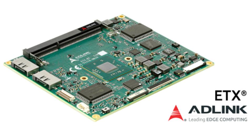 Das Modul ETX-BT mit dem Atom-Prozessor E3800 unterstützt alle Legacy-Schnittstellen.
