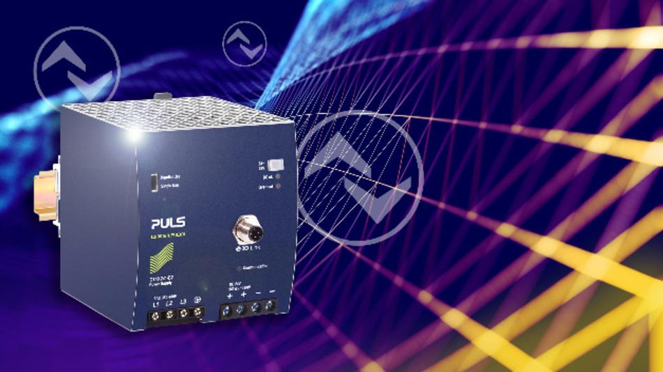 Das QT40.2421-B2 ist eine zuverlässige Spannungsversorgung und kann Daten über IO-Link bereitstellen.