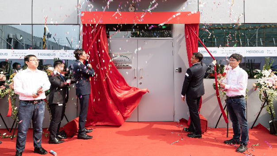 Mit einer feierlichen Zeremonie wurde das neue Entwicklungszentrum in Shanghai eröffnet.