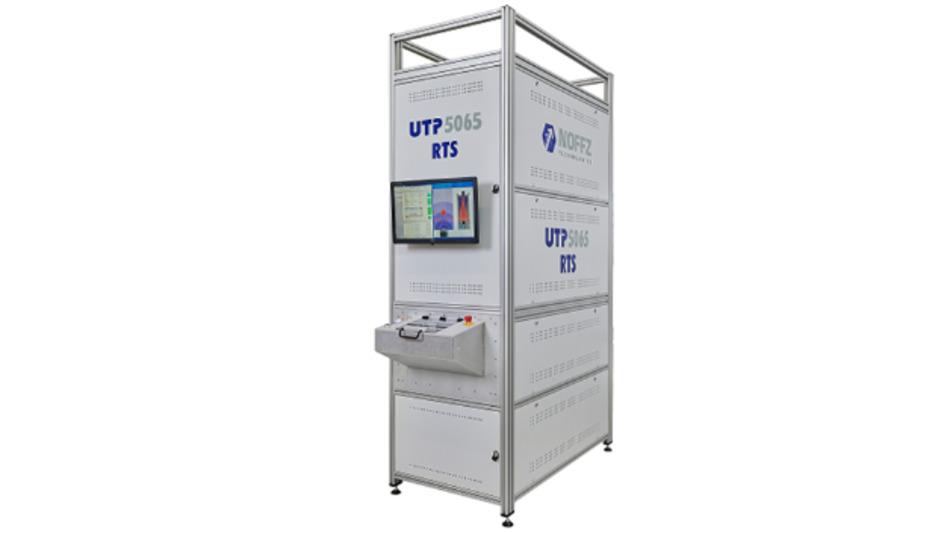 Das Prüfsystem »UTP 5065 RTS« von Noffz eignet sich zum Testen von Radarsensoren.
