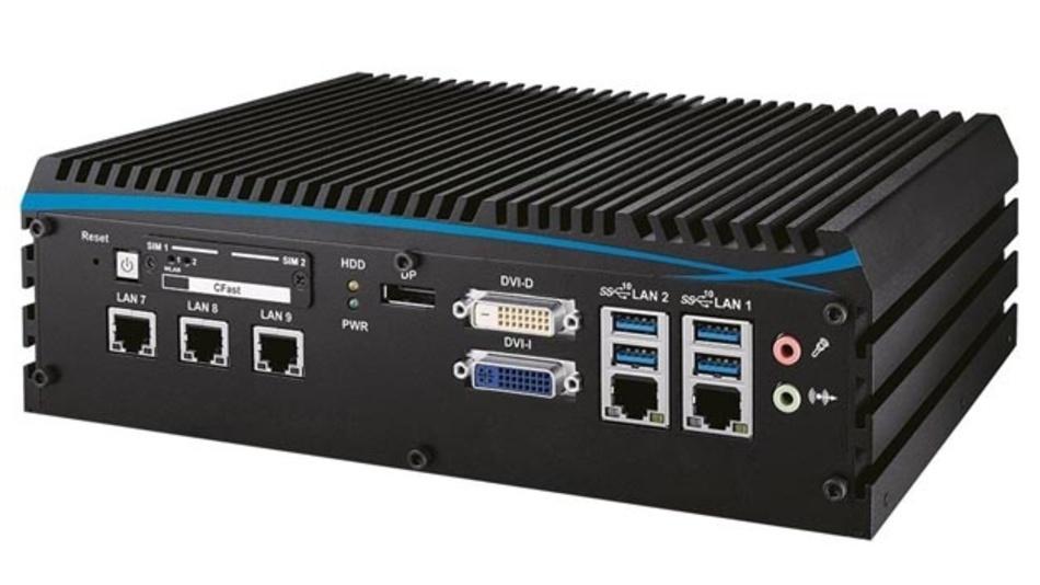 Embedded-Computer der Serie ECS-1000