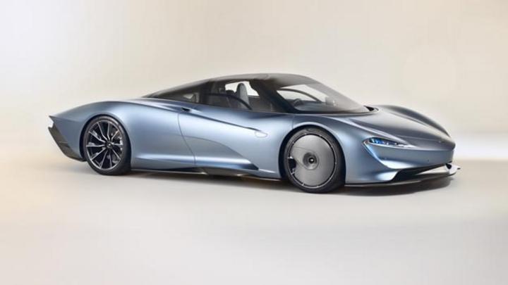 Nur 106 Exemplare wurden vom Speedtail produziert. Der elektrifizierte Sportwagen erreicht eine Höchstgeschwindigkeit von 403 km/h.