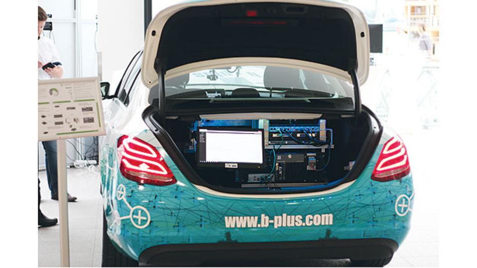 Neue Sensoren und Sensorsteuergeräte für das autonome Fahren in verschiedenen Testverfahren.